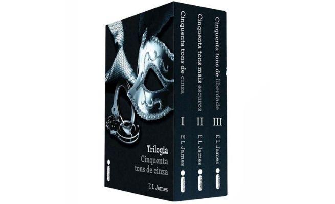 Resumo Box Trilogia 50 Tons de Cinza Liberdade e Mais Escuros